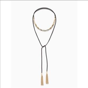Stella and Dot Eliza Fringe Necklace